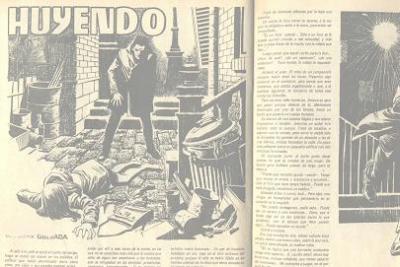 Huyendo (Un relato de Damián Trésel)