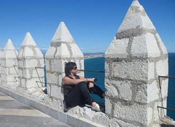 Laura Plana y el mar de Amanda